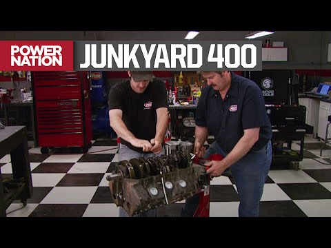 Re-Building A Junkyard Pontiac 400 Motor For $2,000 - HorsePower S12, E11