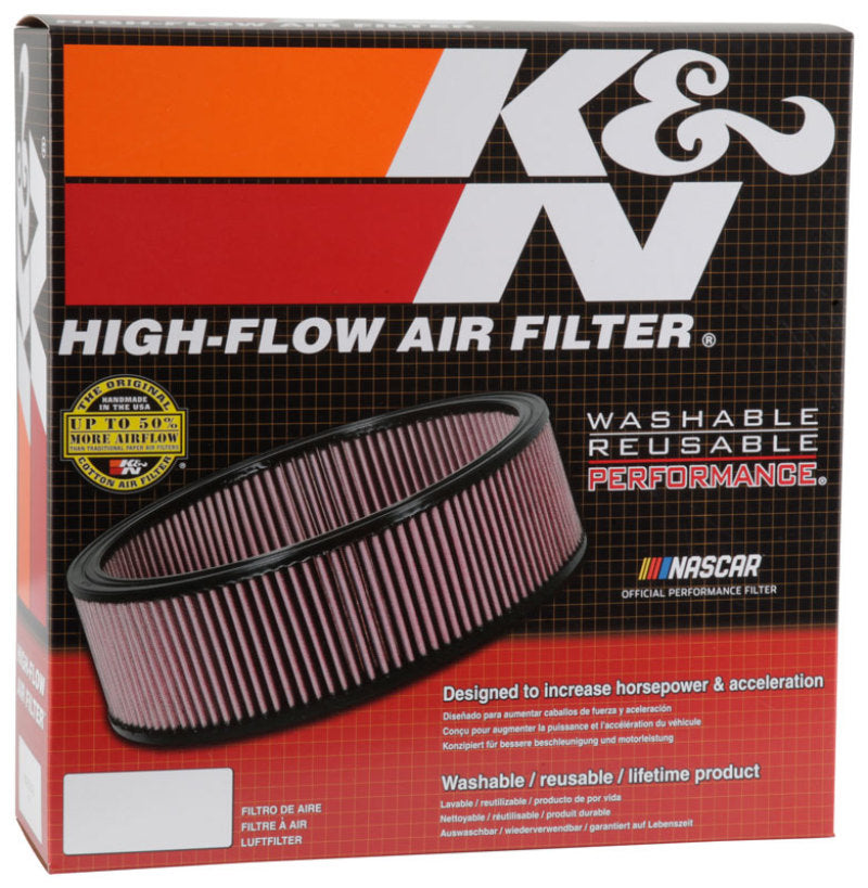 K&N Round Air Filter 13.25in OD 11.25in ID 4in Height