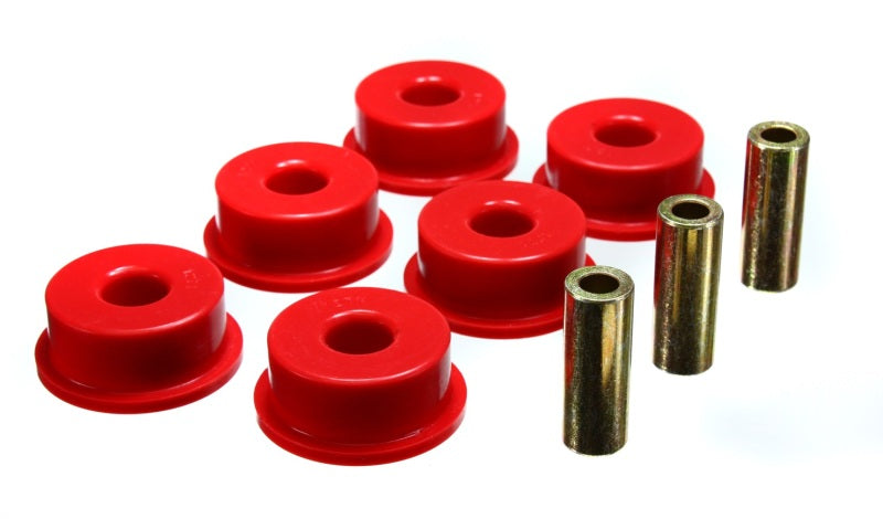 Energy Suspension 10 Chevy Camaro Red Rear Differential Carrier Bushing Set