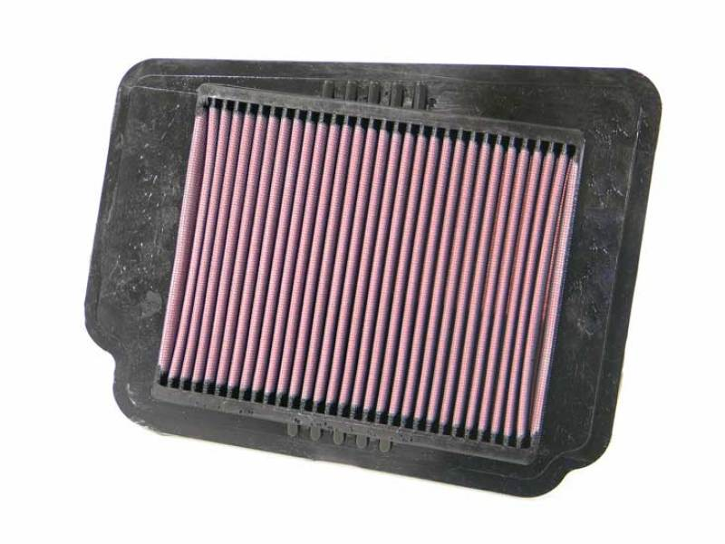 K&N Replacement Air Filter for Chevrolet / Suzuki 11.438in O/S Length x 8.813in O/S Width x 1in H