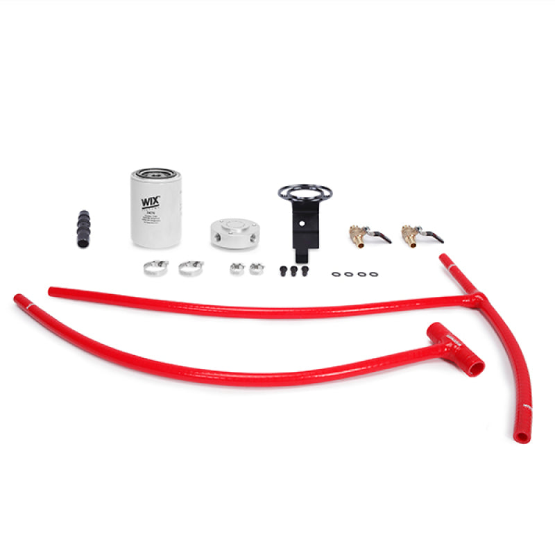 Mishimoto 03-07 Ford 6.0L Powerstroke Coolant Filtration Kit - Red