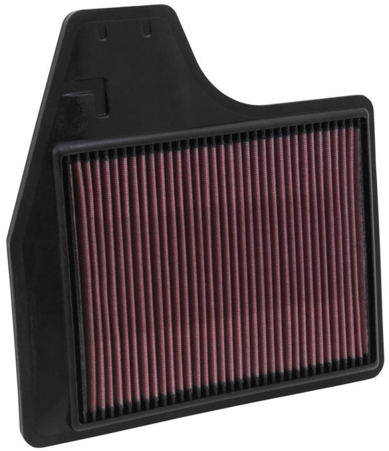K&N Replacement Filter 11.438in O/S Length x 11.375in O/S Width x 1in H for 13 Nissan Altima 2.5L