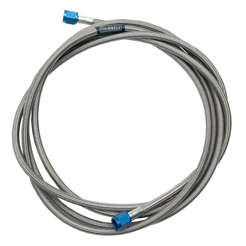 Russell Performance -4 AN to -3 AN 8in Pre-Made Nitrous and Fuel Line