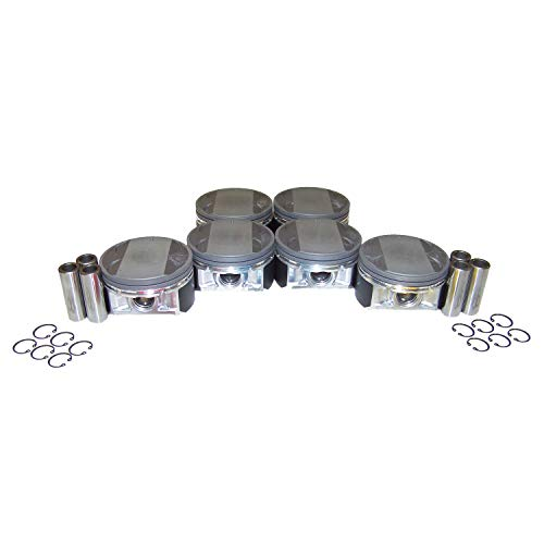 DNJ Piston Set Standard Size P645 For 02-09 Nissan, Infiniti/Quest, FX35, M35, Maxima, G35, Murano, 350Z, Altima, I35 3.5L V6 DOHC Naturally Aspirated designation VQ35DE
