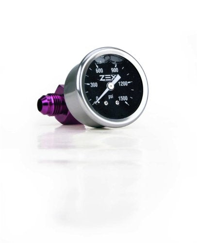 ZEX 82324 Liquid Filled Nitrous Bottle Pressure Gauge