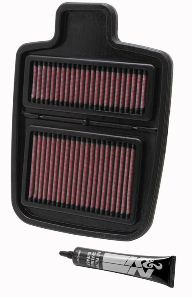 K&N Replacement Air Filter - 10.625in O/S L x 7.625in O/S W x .688in H for Arctic Cat