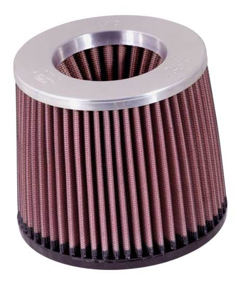 K&N Filter Round Tapered 5 inch Length 5 1/4 inch Top Diameter 5 7/8 inch Base Diameter Inverted Pol