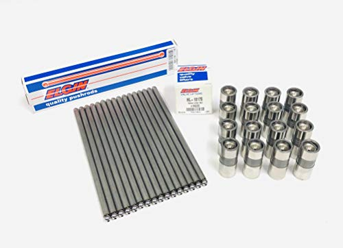 "Push Rods Pushrods& Lifters compatible with Chevy GM V8 Small Block 305 350 Non Roller. Push rod Length (7.794"" Length)"