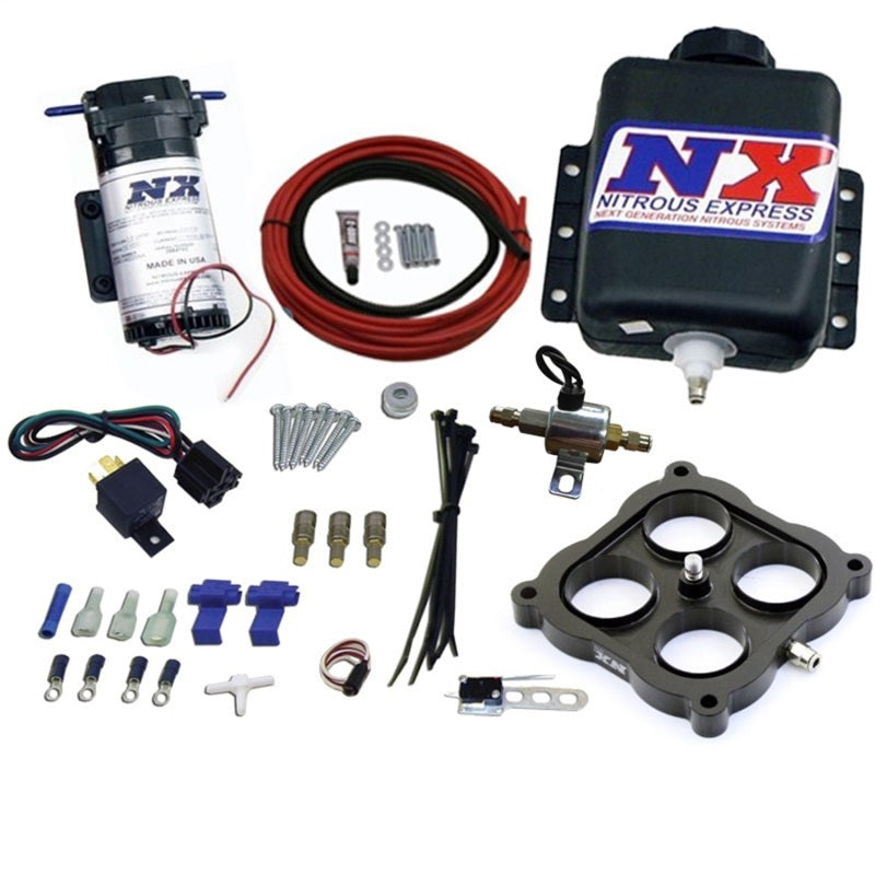 Nitrous Express Water Injection Gas Carbureted 4500 Flange Stage 1 WOT Activated