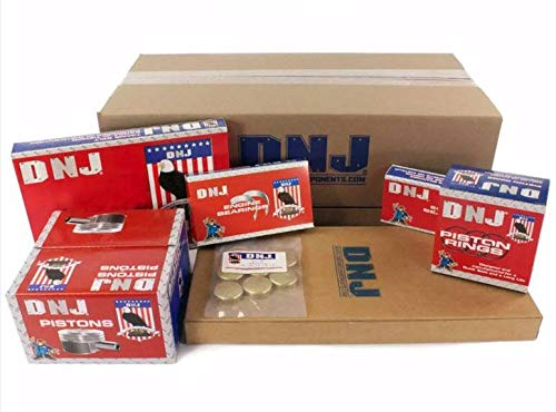 DNJ EK1100BM Master Engine Rebuild Kit for 2002-2003 / Dodge/Dakota, Durango, Ram 1500/4.7L / SOHC / V8 / 16V / 285cid, 287cid / VIN N