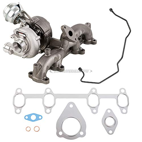 Stigan Turbo Turbocharger w/Gaskets & Oil Line For Volkswagen VW Golf Jetta Mk4 New Beetle TDI Diesel 1.9 ALH - Stigan 842-0094 New