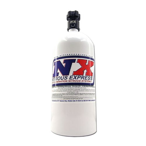 Nitrous Express 11100 Nitrous Bottle with Standard L45 Valve - 10 lbs.