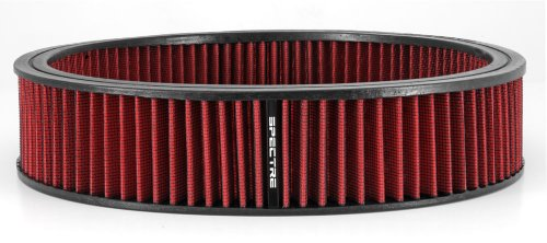 Spectre Performance 48022 Air Filter 14 X 3 Cotton Fiber Red