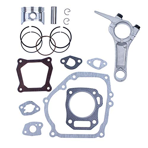 68MM Piston Ring Connecting Rod Engine Full Gasket Set for Honda GX160 GX 160 5.5HP 4-Cycle Gas Engine Generator Water Pump