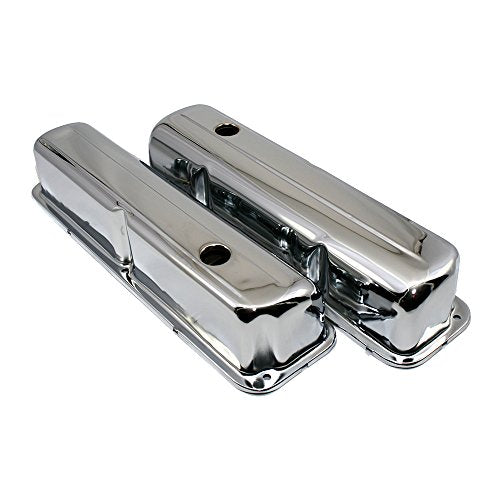 Assault Racing Products A9296 for Big Block Ford FE Chrome Steel Valve Covers BBF 352 390 406 427 428