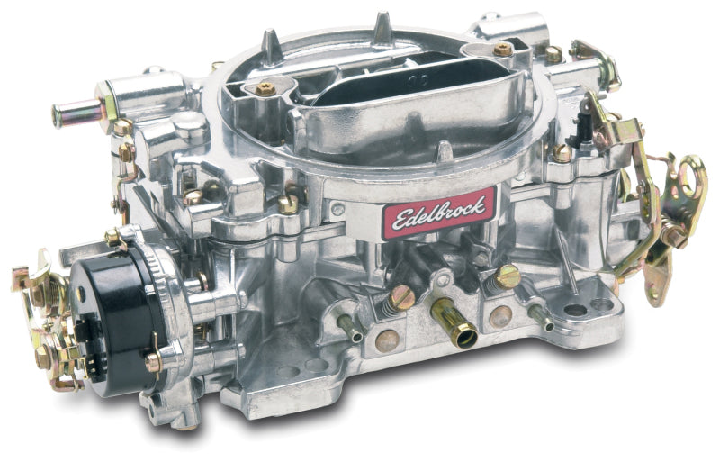 Edelbrock Carburetor Performer Series 4-Barrel 800 CFM Electric Choke Satin Finish