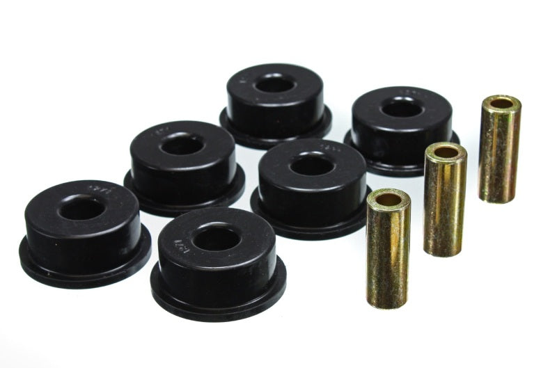 Energy Suspension 10 Chevy Camaro Black Rear Differential Carrier Bushing Set