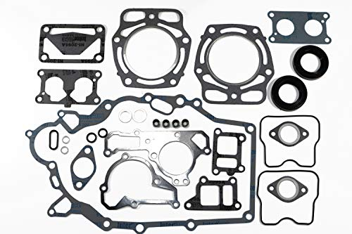 Compatible with John Deere Gator, Tractor, Mower F911, 425 & 445 / FD620D / FD661D Engine Gasket Set with 2 Oil Seals