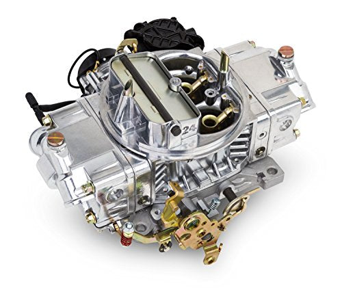 Holley Performance 0-83570 Street Avenger Carburetor, 4 Barrels, 570 CFM, Vacuum Secondary, Electric Choke, Aluminum