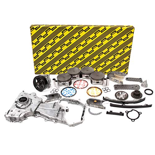 Evergreen OK3032/0/0/0 Fits 02-06 Nissan Altima Sentra SE-R 2.5L QR25DE DOHC 16V Engine Rebuild Kit