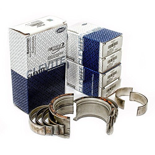 "Clevite77 Standard Rod & Main Bearing Set compatible with 366 396 402 427 454 502 Chevy bb (""P"" Series)"
