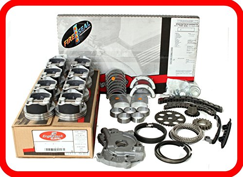 Engine Rebuild Overhaul Kit FITS: 2007-2009 Chevrolet GMC 5.3L 5.3 5300 V8 LS Vortec W/Flat-Top Pistons