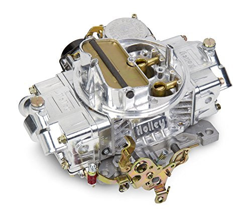Holley 0-80458SA Polished Aluminum Universal Street/Strip Carburetor
