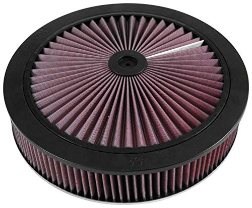 K&N X-Stream Top Air Filter: High Performance, Premium, Washable, Replacement Engine Filter: Shape: Round, 66-3010