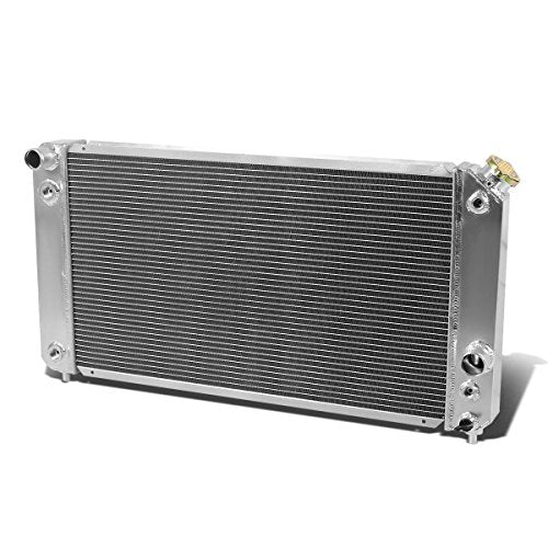 For Chevy Blazer/S10/GMC Jimmy/Sonoma 4.3L V6 Full Aluminum 3-Row Tri Core Racing Radiator