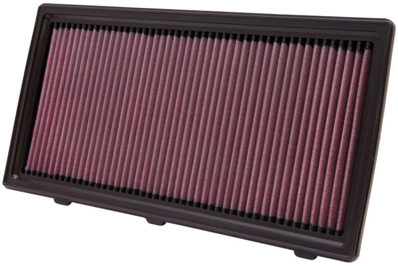 K&N 97-10 Dodge Dakota / 98-03 Durango / 06-09 Mitsubishi Raider Drop In Air Filter