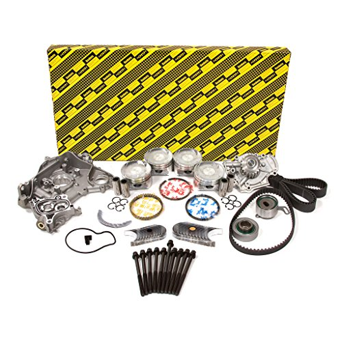 Evergreen OK4010M/0/0/0 Fits 98-02 Acura CL Honda Accord Vtec 2.3L SOHC F23A1 F23A4 F23A5 F23A7 Master Overhaul Engine Rebuild Kit