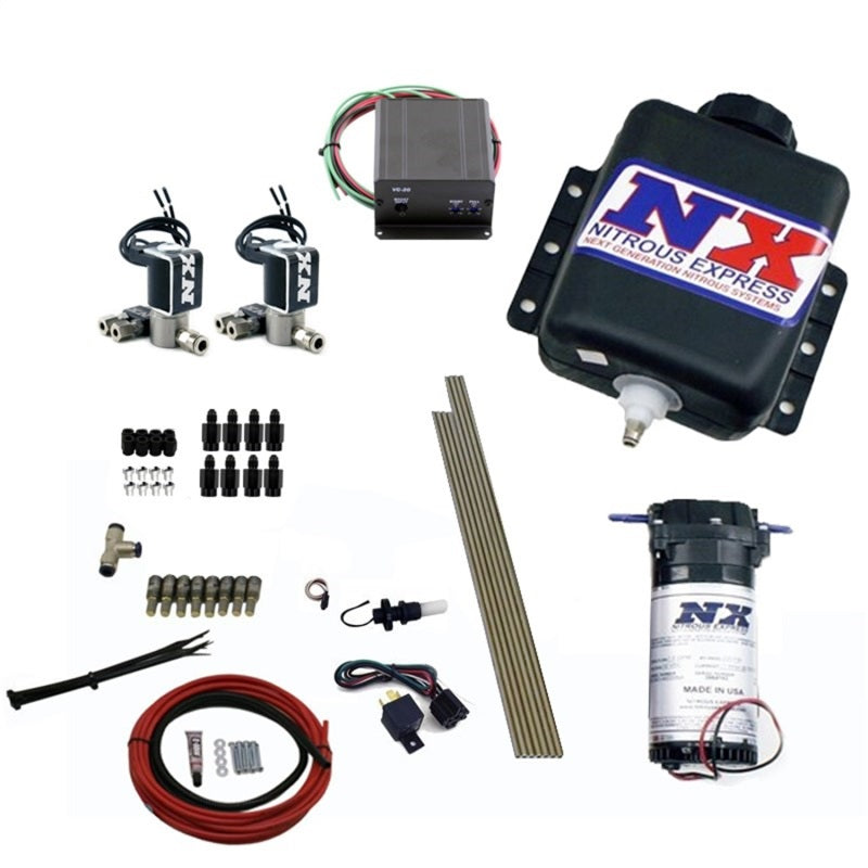Nitrous Express Direct Port Water Injection 8 Cyl Stage 2 w/Hardlines