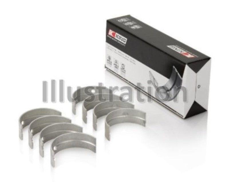 King Bearings Nissan VR38DETT VQ35HR VQ37HR Performance Crankshaft Main Bearings (Size +0.25)