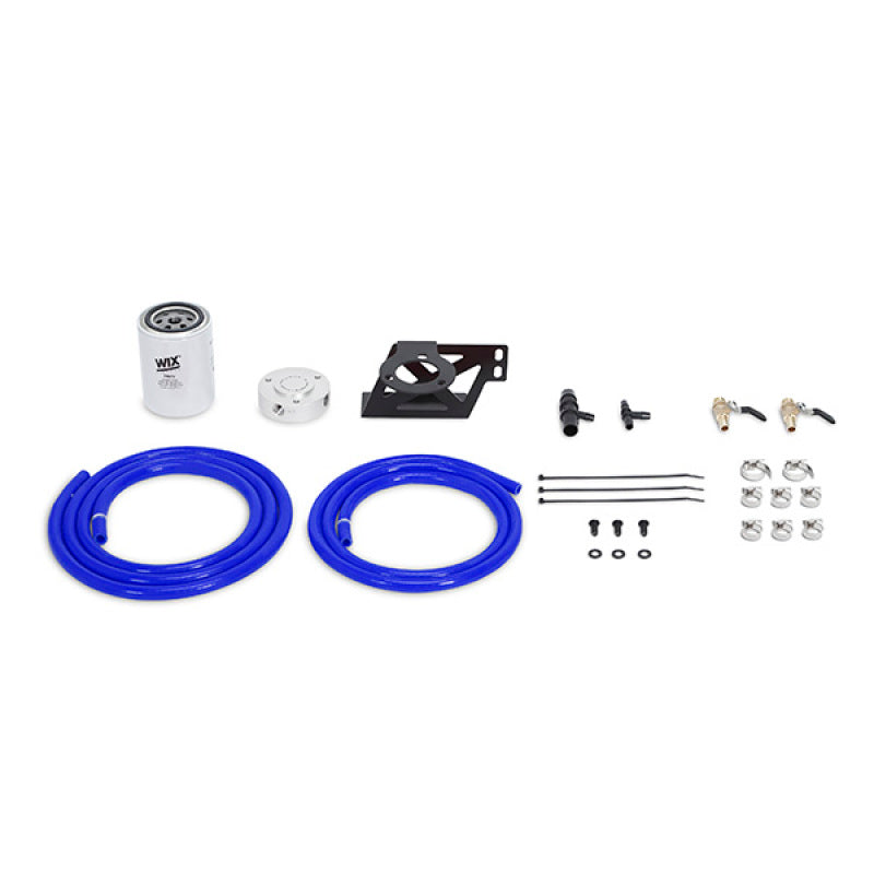 Mishimoto 08-10 Ford 6.4L Powerstroke Coolant Filtration Kit - Blue