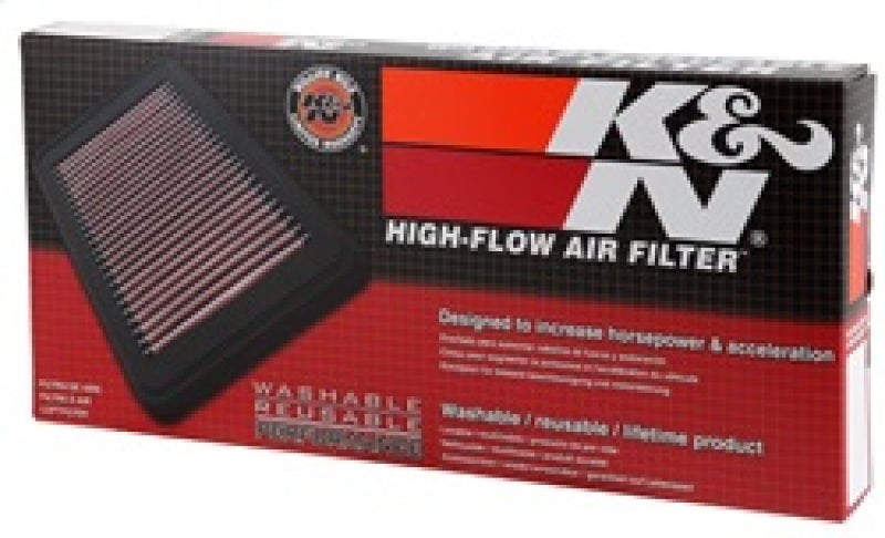 K&N 06-14 Citroen C8 2.0L Diesel / 07-16 Fiat Scudo 2.0L Diesel Replacement Drop In Air Filter