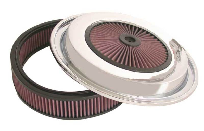 K&N Replacement Air Filter w/ XStream Lid - 15.375in OD x 4.5in H