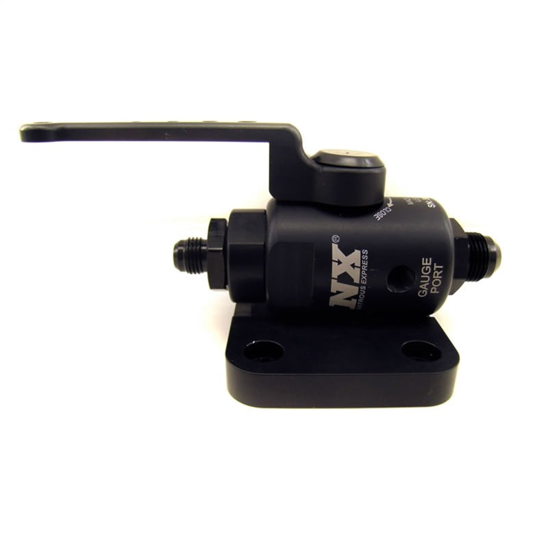 Nitrous Express Remote Shutoff Nitrous Valve Female 8AN Oring Inlet and Outlet