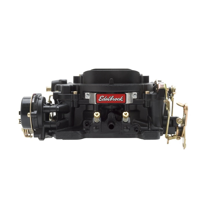 Edelbrock Carburetor Performer Series 4-Barrel 600 CFM Electric Choke Black Finish