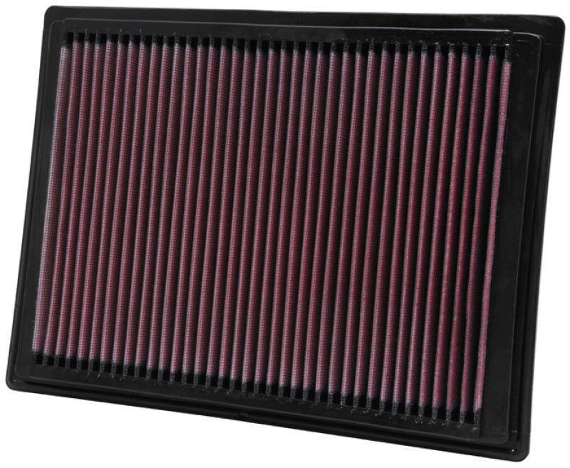 K&N 04-08 Ford F150 / 05-06 Expedition / 05-07 F250 SD / 05-06 Lincoln Navigator Drop In Air Filter