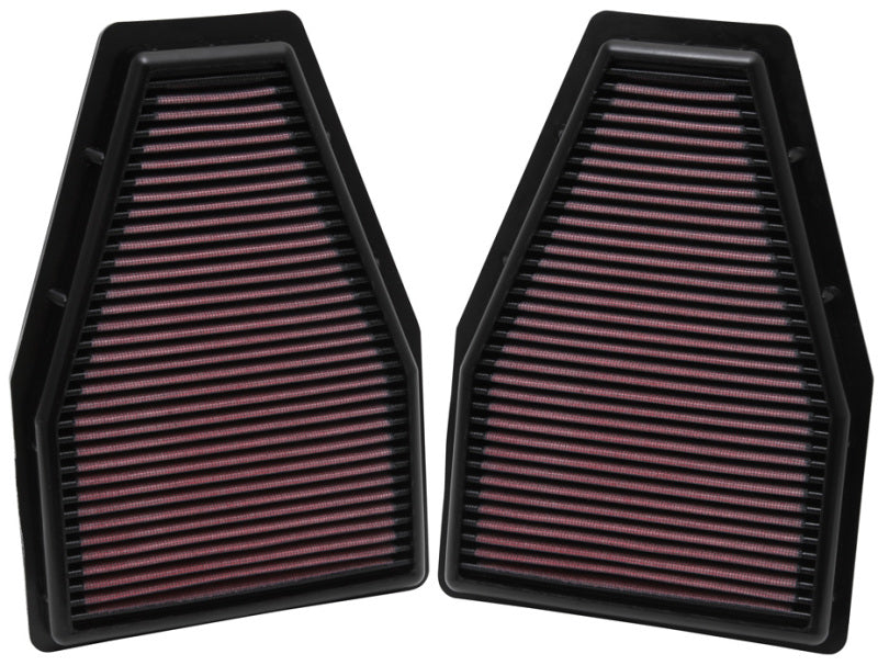 K&N Replacement Air Filter 12-13 Porsche 911 3.4L / 12 911 3.8L / 13 911 3.6L / 13 911 Carrera 3.8L