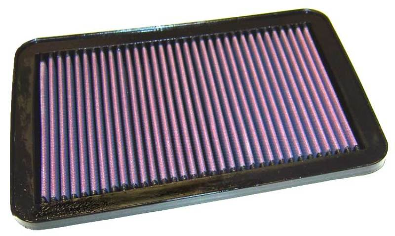 K&N 01 Hyundai Santa Fe 2.4L-L4/2.7L-L6 Drop In Air Filter