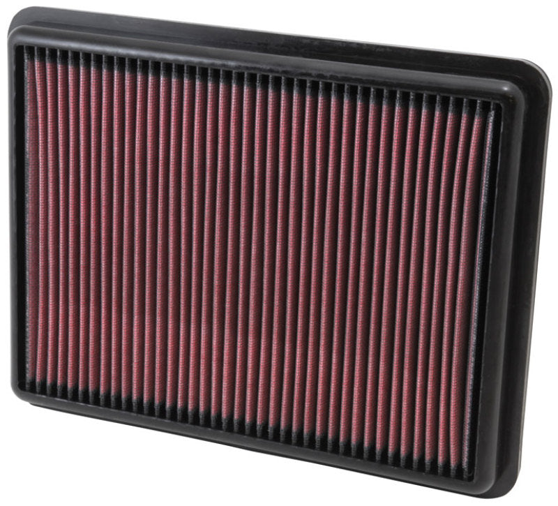 K&N Replacement Air Filter 11.75in O/S Length x 9in O/S Width x 1.188in H for 13 Hyundai Santa Fe