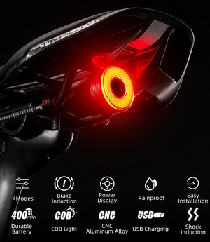 Rockbros™ - Smart Bike Tail Light - ZeCart™