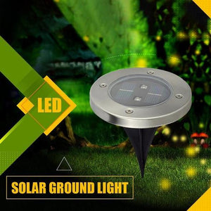 Solar Powered Floor Path LED Light - ZeCart™
