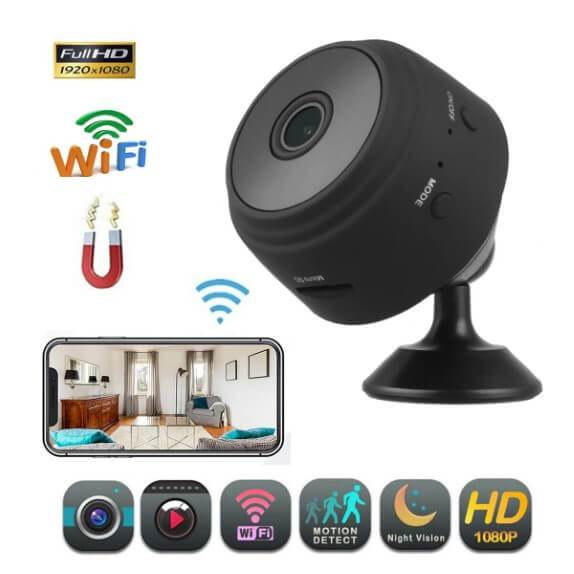 WIFI CAMERA WITH SENSORI NIGHT VISION - ZeCart™