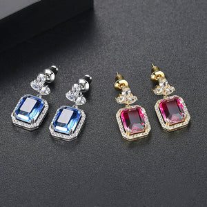 YGP Rainbow Dangle Earrings - Enumu