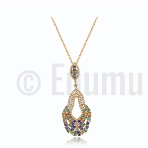 Multi Colour Necklace - Enumu