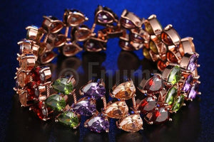 Three Line Multi Colour Bracelet - Enumu