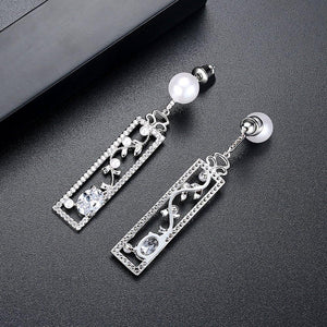 Pearl Vine Designer Earrings - Enumu