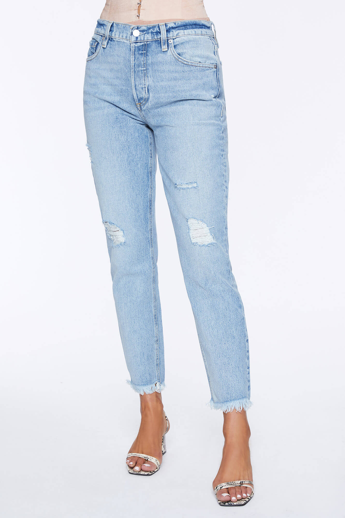 Milla High Waist Slim Straight Jean